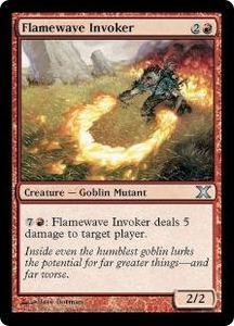 Magic the Gathering Tenth Edition Single Card Uncommon #202 Flamewave Invoker