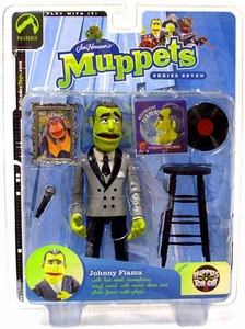 The Muppets Series 7 Action Figure Johnny Fiama Steppin' Out