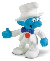 Schleich The Smurfs Mini Figure Bridegroom