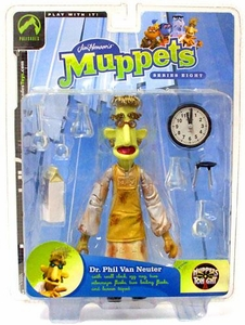 The Muppets Series 8 Action Figure Dr. Phil Van Neuter