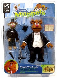 The Muppets Series 9 Action Figure Steppin' Out Fozzie