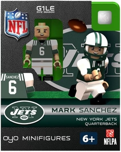 OYO Football NFL Building Brick Minifigure Mark Sanchez [New York Jets]