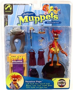 The Muppets ToyFare Exclusive Action Figure Vacation Pepe