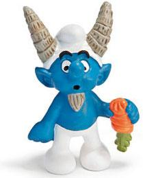 Schleich The Smurfs Mini Figure Capricorn Smurf