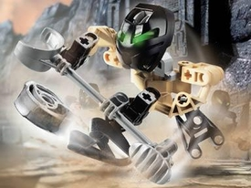 LEGO Bionicle Matoran Set #8585 Hafu [Black]