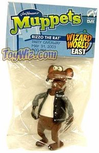 The Muppets Wizard World East Party Exclusive Action Figure Rizzo the Rat