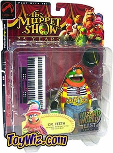 The Muppets Wizard World East Exclusive Action Figure Dr. Teeth