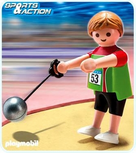 Playmobil Athletes Set #5200 Hammer Thrower