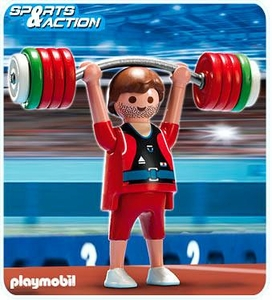 Playmobil Athletes Set #5199 Weightlifter