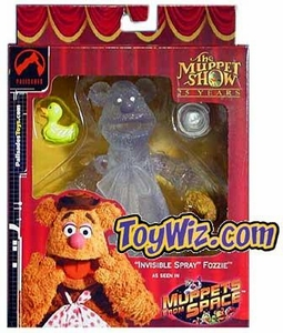 Muppets San Diego Comic-Con Exclusive Action Figure Invisible Spray Fozzie