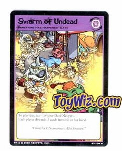 Neopets Trading Card Game Lost Desert Single Card Uncommon 67/100 Swarm of the Undead