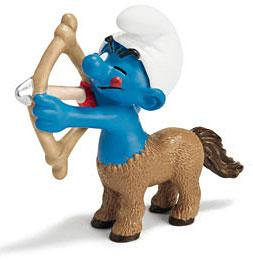 Schleich The Smurfs Mini Figure Sagittarius Smurf