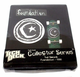 Tech Deck 96mm Collector Series Tod Swank Foundation 1990
