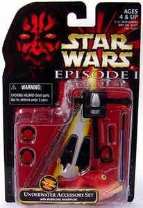 Star Wars Phantom Menace Underwater Accessory Set