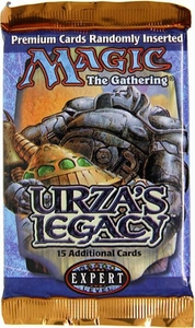 Magic the Gathering Urza's Legacy Booster Pack [15 cards]