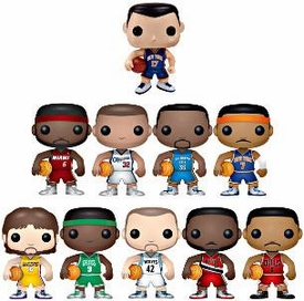 Funko POP! NBA Series 1 Set of 10 Vinyl Figures [Includes Jeremy Lin!]