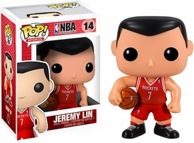 Funko POP! NBA Series 2 Vinyl Figure Jeremy Lin [Rockets Version]