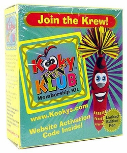 The Kookys Kooky Fun Klub Membership Kit [With Limited Edition Pen]