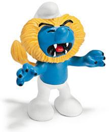 Schleich The Smurfs Mini Figure Leo Smurf