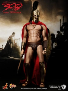 300 Hot Toys 1/6 Scale Deluxe Figure King Leonidas
