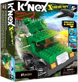 K'NEX Xtreme Ops Mission Set #11219 Jungle Guard