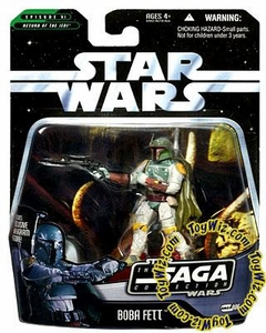 Star Wars Saga 2006 Basic Action Figure #06 Boba Fett