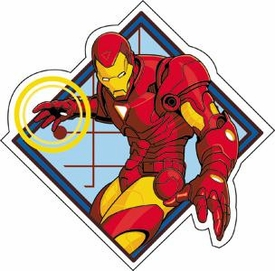 Iron Man Sticker Invincible