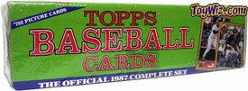 1987 Topps Baseball Cards Factory Sealed Set (Colored Box)