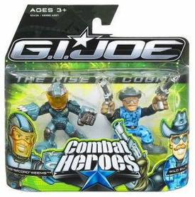 GI Joe The Rise of Cobra Combat Heroes 2-Pack Ripcord [Accelerator Suit] & Wild Bill