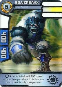 Redakai Gold Pack Single Card Rare #2334 Silverbaxx [Blue Animal]