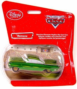 Disney Pixar Cars Exclusive 1:48 Die Cast Car Green Ramone