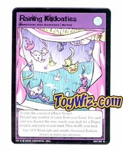 Neopets Trading Card Game Lost Desert Single Card Uncommon 63/100 Raining Kadoaties