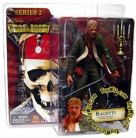 NECA Pirates of the Caribbean Curse of the Black Pearl Series 2 Action Figure Ragetti