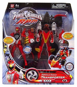 Power Rangers RPM Auxiliary Trax: Formula Eagle Transporter