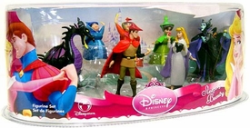 Disney Sleeping Beauty Exclusive 7 Piece SLEEPING BEAUTY Mini PVC Collector Set