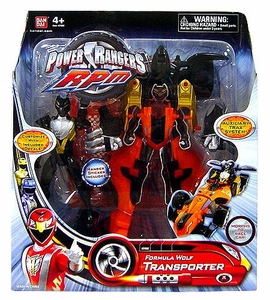 Power Rangers RPM Auxiliary Trax: Formula Wolf Transporter