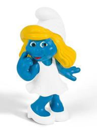 Schleich The Smurfs Mini Figure Dreamy Smurfette