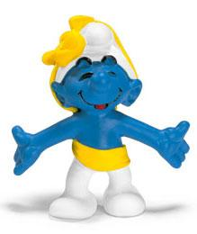 Schleich The Smurfs Mini Figure Anniversary Smurf