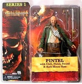 NECA Pirates of the Caribbean At World's End Series 1 Action Figure Pintel