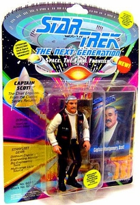 Star Trek: The Next Generation Playmates Action Figure Captain Montgomery Scott
