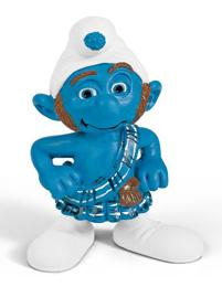 Schleich The Smurfs Mini Figure Gutsy