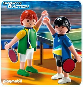 Playmobil Athletes Set #5197 Table Tennis Players