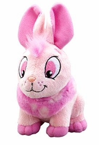 Neopets Collector Species Series 2 Plush with Keyquest Code Pink Cybunny