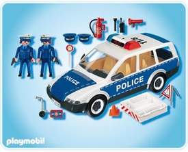 Playmobil Police Set #4260 Patrol Car