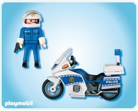 Playmobil Police Set #4262 Motorcycle Patrol