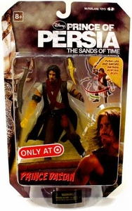 McFarlane Toys Prince of Persia Exclusive 6 Inch Action Figure Prince Dastan [Translucent Arm] BLOWOUT SALE!