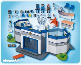 Playmobil Police Set #4264 Police Headquarters
