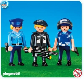 Playmobil Police Set #7385 3 Police Officers