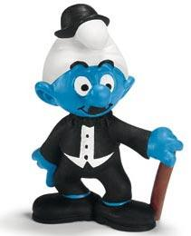 Schleich The Smurfs Mini Figure Actor Smurf