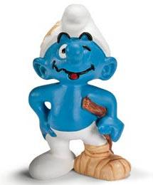 Schleich The Smurfs Mini Figure Stuntman Smurf